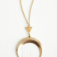 Boho Dance to Your Own Lune Necklace by ModCloth