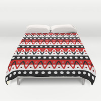 ChicaBeoowngChicaWeoowng! Duvet Cover by Moop