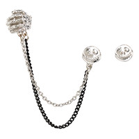 The Nightmare Before Christmas Jack Stud And Chain Ear Cuff