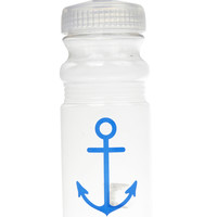 Anchor Water Bottle | Wet Seal