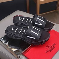 Valentino  Men Casual Shoes Boots fashionable casual leather