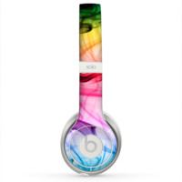 The Neon Glowing Fumes Skin for the Beats by Dre Solo 2 Headphones