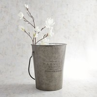 Magnolia Home Logo Metal Milk Bucket