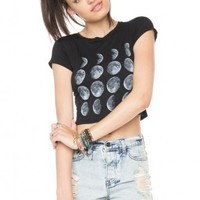 Brandy ♥ Melville |  Carolina Moon Phase Top - Just In