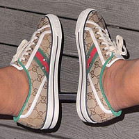 GUCCI New 2021 women's casual shoes