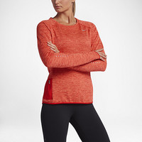 The Nike Therma Sphere Element Women's Long Sleeve Running Top.