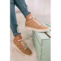 Happy Places Casual Sneakers (Peach)