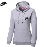 Trendsetter Nike Women Fashion Print Sport Casual Top Sweater Pullover Hoodie