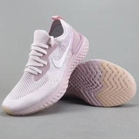 Nike Epic React Flyknit Women Men Fashion Casual Sneakers Sport Shoes