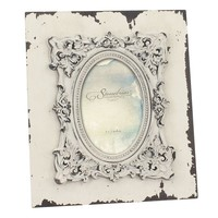 Stonebriar Collection 4'' x 6'' Weathered Wood Frame (White)