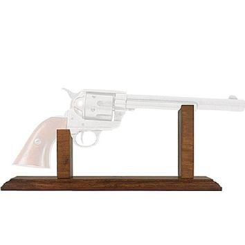 Old West Display Stand For Replica Long Barrel Pistols