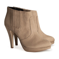 H&M - Ankle Boots - Sand - Ladies