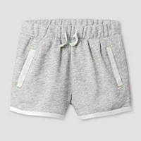 Toddler Girls' Jogger Shorts - Cat & Jack™ Gray