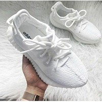 Adidas Yeezy 550 Boost 350 V2 Fashion Couple Casual Running Sport Shoes Sneakers White