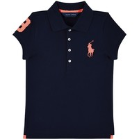 Navy Polo Ralph Lauren Big Polo Player Shirt | Harrods