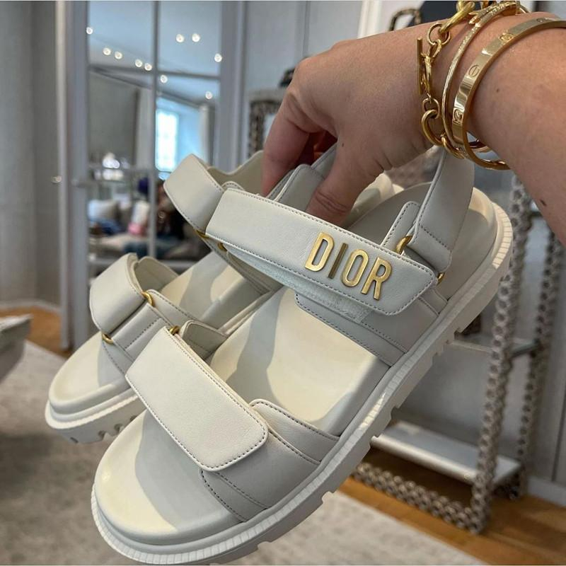Image of DIOR  2021 new Velcro sandals