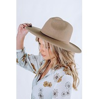 A Million Reasons Hat: Dusty Taupe