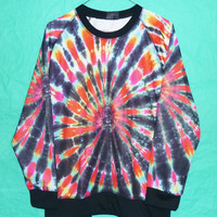 Crewneck Sweater colorful teen Rock Winter Fashion color Long Sleeve Cute Sweater Jersey Women Unisex T-Shirt Size M/L Many  colors T Shirt
