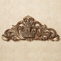 Coronet Royal Crown Decorative Topper Wall Accent
