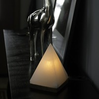Fair Trade Zen Pyramid Himalayan Crystal Salt Lamp