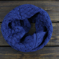 Women's Infinity Knitted Scarf, Fall Scarf, Knit infinity scarfs, Cable Knit Infinity, Winter Scarf, Navy Knitted Scarf