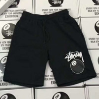 """Stussy"" Fashion Print Casual Beach Pants Summer Sports Cotton Shorts G-A-GHSY-1"