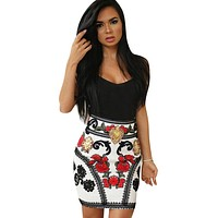 Print Bodycon Dress
