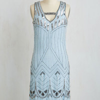 Vintage Inspired Sleeveless Shift Dash to the Bash Dress