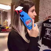 Windex Window Cleaner Spray Bottle Soft Silicon Phone Back Cover Case For iPhone 5 5s 6 6s 6 Plus 6s Plus