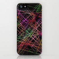 Rave Fracture iPhone & iPod Case by Dood_L
