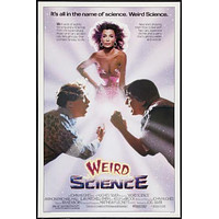 Weird Science movie poster Sign 8in x 12in