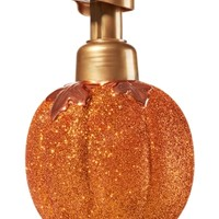 Foaming Soap Dispenser Bedazzled Pumpkin