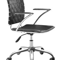 ZUOmod Criss Cross Office Chair - Black, White or Espresso