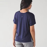 2017 Hot LULULEMON WOMEN GIRLS SHORT SLEEVE YOGA SPORTS T SHIRTS