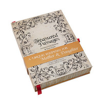 MOTHER & DAUGHTER LETTER BOOK   Treasured Passages, Parents Journal   UncommonGoods