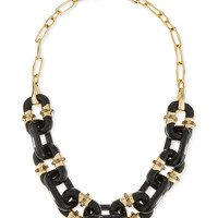 Lucite Double-Sided Link Station Necklace - Alexis Bittar