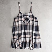 Somedays Lovin - Morning Rain Pinafore Plaid Dress in Multi