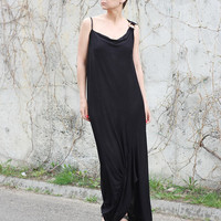 Summer Dress, Kaftan Dress, Maxi Dress, Sleeveless Dress, Party Dress,  Formal Dress, Long Dress, Evening Dress, Black Dress, Beach Dress