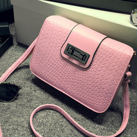Fashion Women Leather Shoulder Bag Female Casual Crossbody Messenger Bags Chic Handbag Gift 36