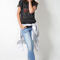 Prince Peter ACDC Distressed Tee