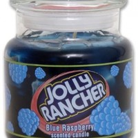 Jolly Rancher by Hanna's Candle 16.75-Ounce Jolly Rancher Blue Raspberry Jar Candle:Amazon:Home & Kitchen