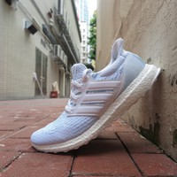 BC HCXX Parley X adidas Ultra Boost 3.0 - Footwear White/Icey Blue #CP9685