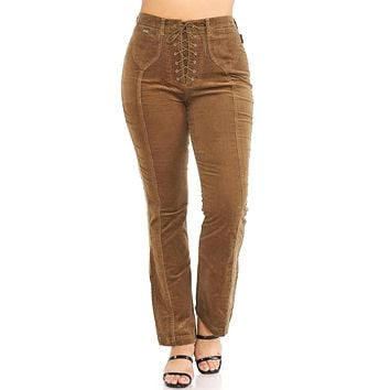 Old West Corduroy Pants - Plus Size