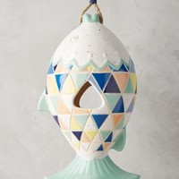 Rainbow Fish Birdhouse by Anthropologie in Assorted Size: One Size Garden