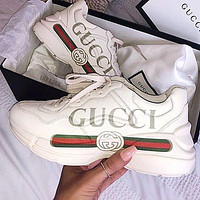 GUCCI Fashionable leisure shoes-1