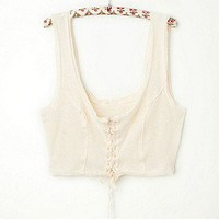 Intimately Free People Clothing Boutique > Lace Up Crop Cami