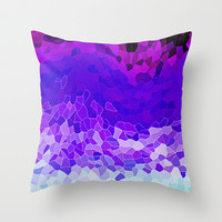 INVITE TO LILAC Throw Pillow by Catspaws | Society6