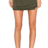 YFB CLOTHING Sabina Skirt in Olive