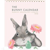2019 The Bunny Calendar - Flower Arranging