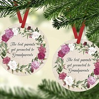 Christmas Ornament - Promoted to Grandparents